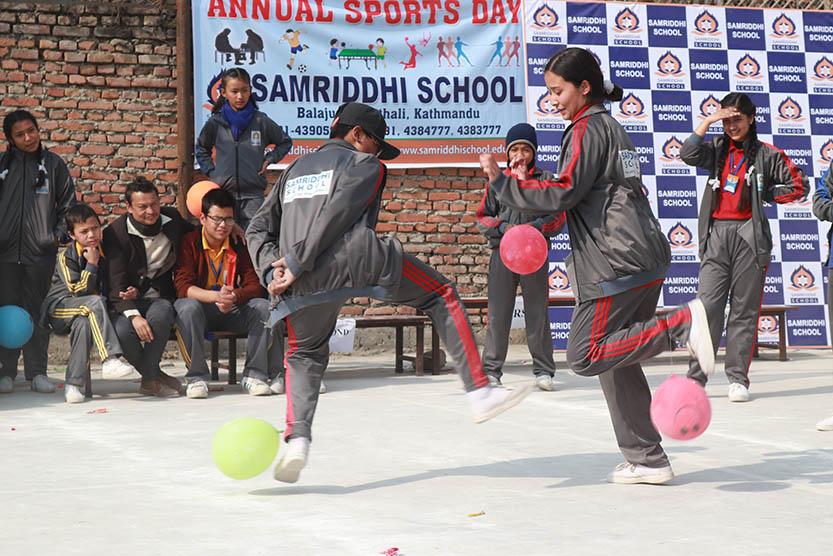 Sports Day 2075 - Samriddhi School
